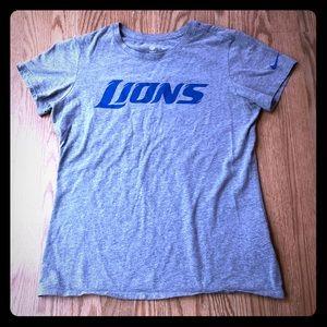 Nike grey Detroit Lions tee
